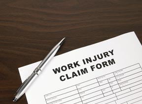 Work Comp Claim Form