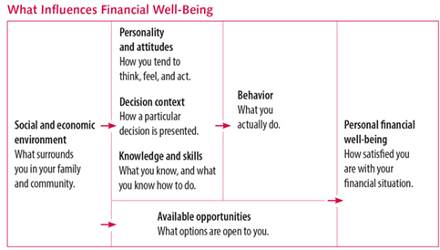 Financial Well-Being Matrix